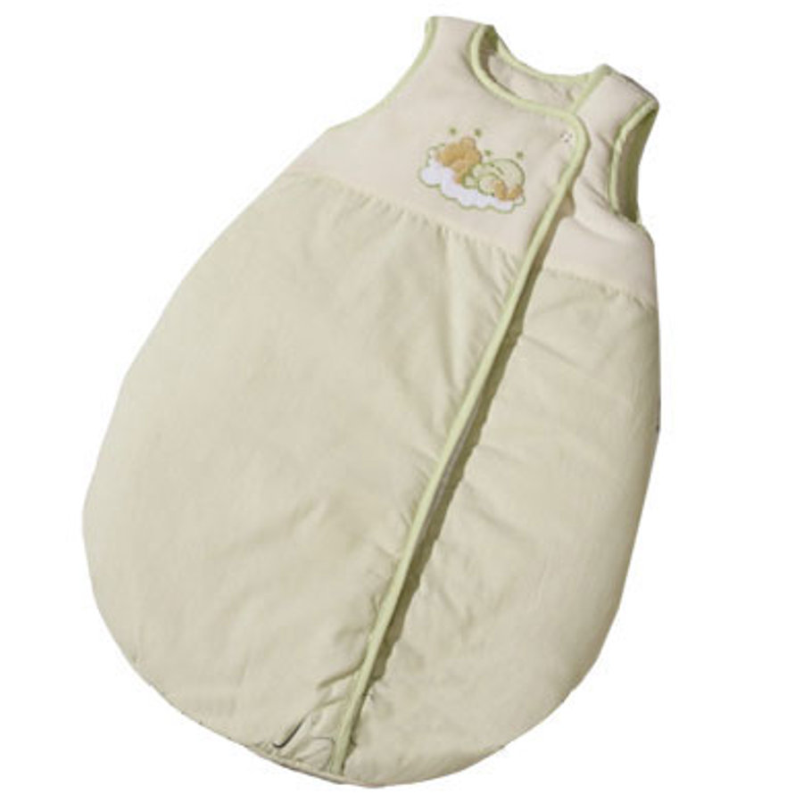 Easy Baby Schlafsack Molton 90cm Sleeping bear green (451-84)