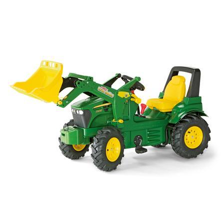 rolly®toys Tracteur à pédales enfant rollyFarmtrac John Deere 7930, pelle 710126
