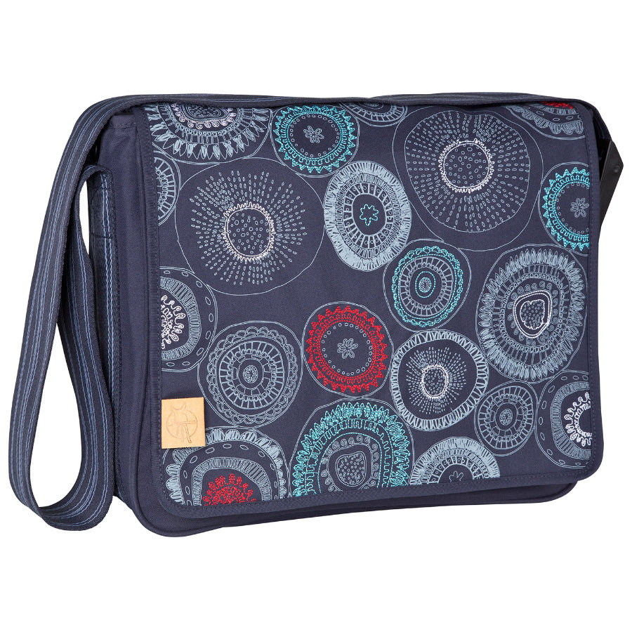 LÄSSIG Wickeltasche Casual Messenger Bag Fossil navy