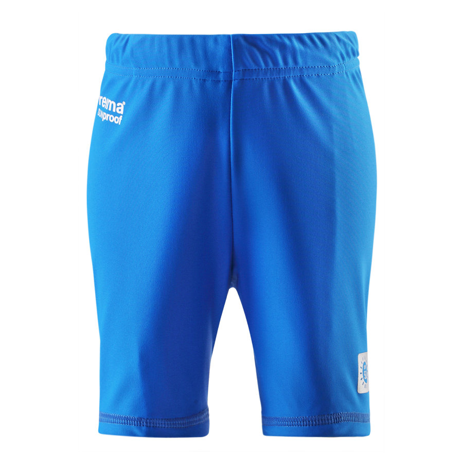 REIMA Boys Mini Short de bain avec protection UV HAWAII, bleu moyen