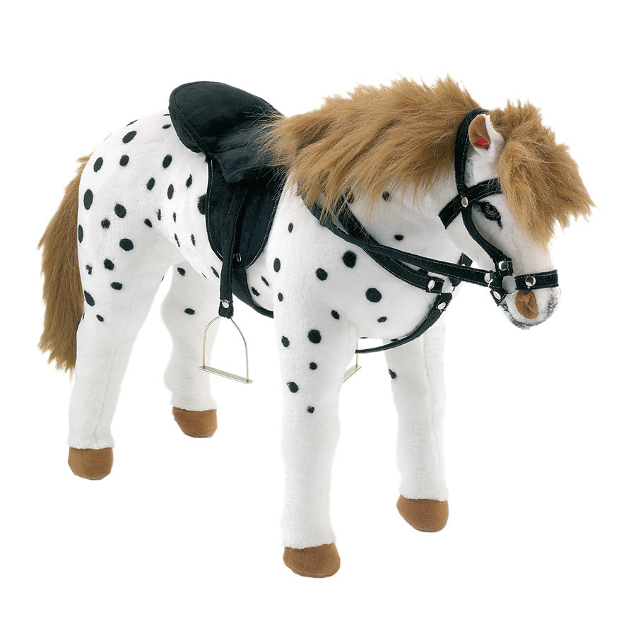 HAPPY PEOPLE Jezdecký kůň Šiml bílý