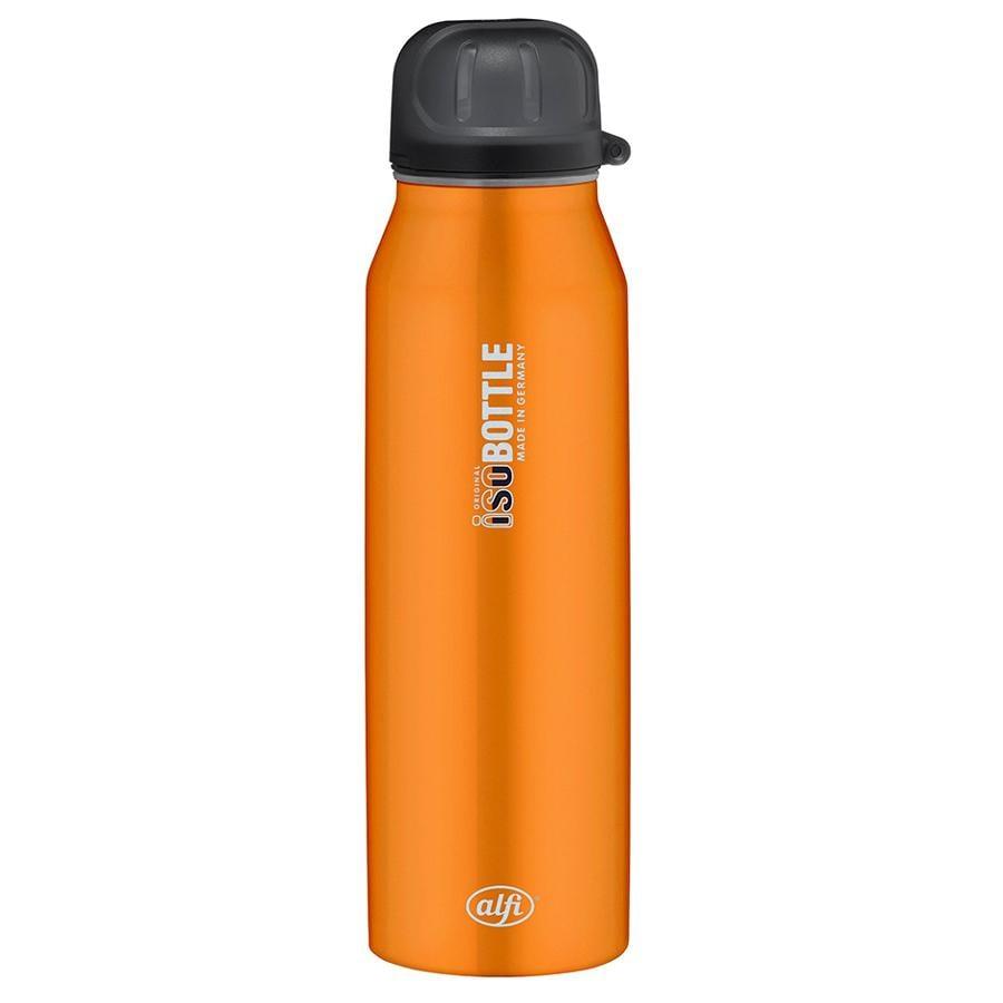 ALFI Trinkflasche ISO Bottle II aus Edelstahl 0,5l Design Pure Orange