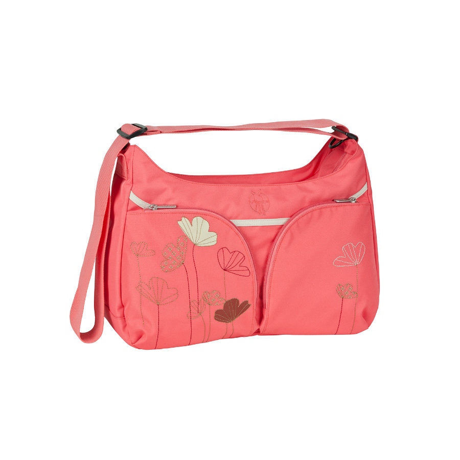 LÄSSIG Nappy Bag Basic Shoulder Bag Poppy dubarry