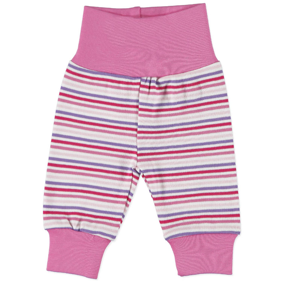 FIXONI Girls Preemie Sweatpants stripes pink