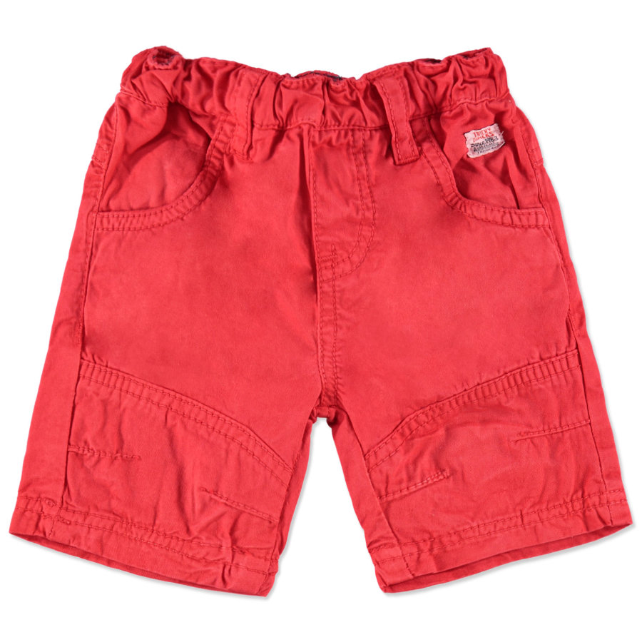 TRICKY TRACKS Boys Mini Bermuda, rouge