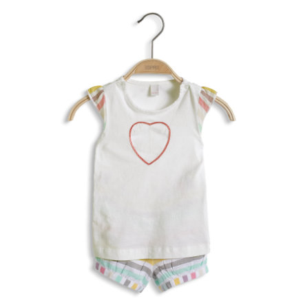 ESPRIT Girls Baby Double Set T-Shirt + Shorts multicolour