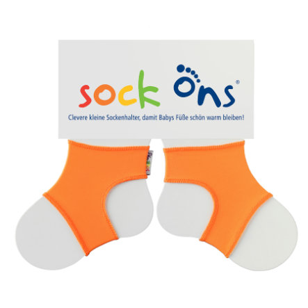 SOCK ONS  Brights Sockenhalter orange