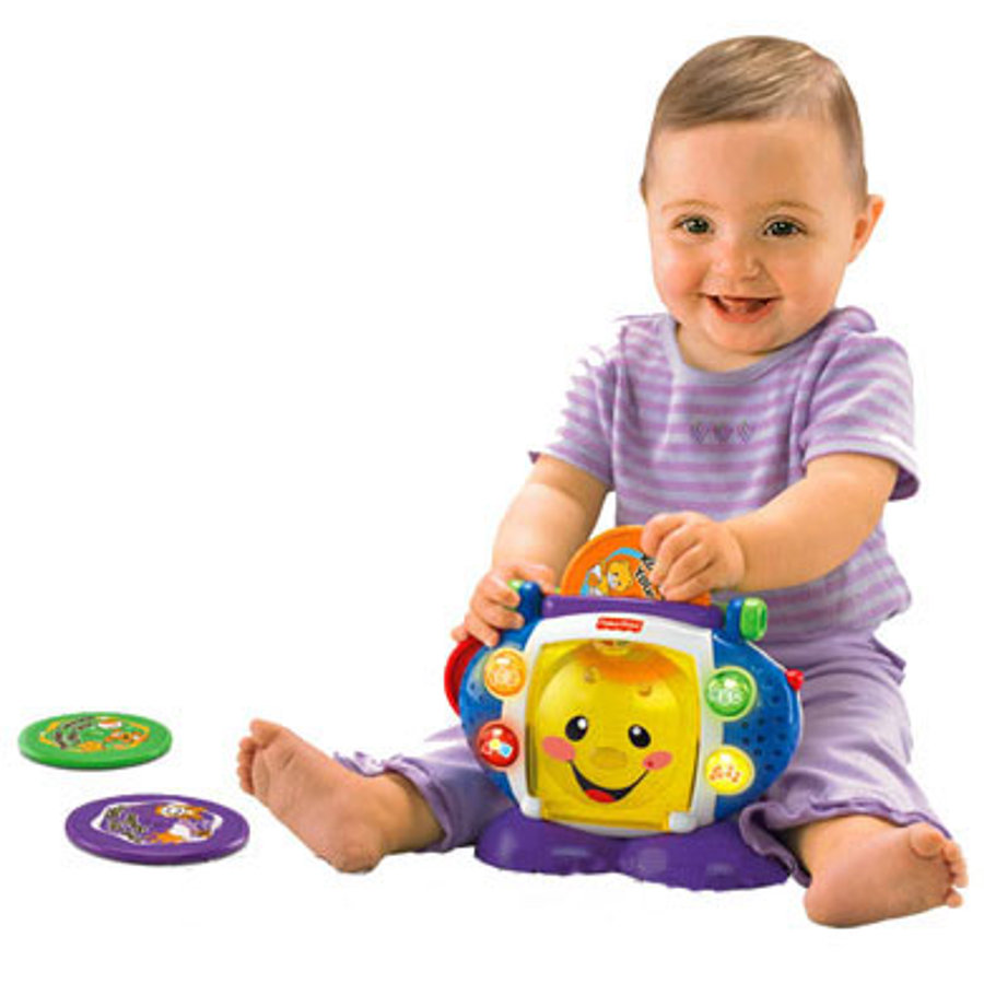 FISHER PRICE Lettore CD - Lingua: Tedesco