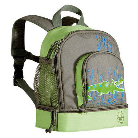 LÄSSIG Mini Ryggsäck Backpack Crocodile