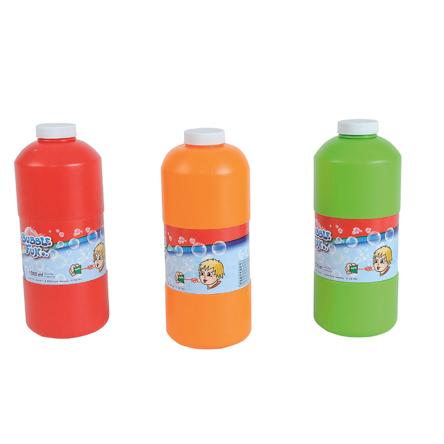 SIMBA Bubble Fun Soap Bubbles Refill Bottle, 1 litre