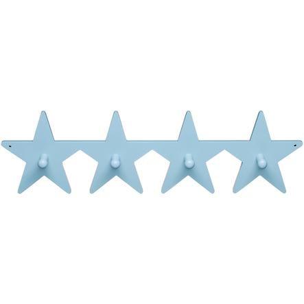 KIDS CONCEPT Coat Hook Star, blue 50 cm