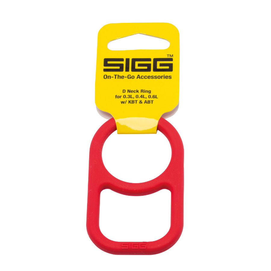 SIGG Bague D-Neck 0,3 l, 0,4 l, 0,6 l, rouge