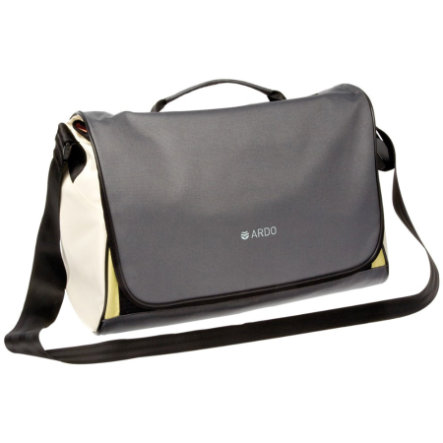 ARDO Nursing Bag complete grey/white/green