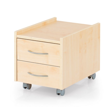 KETTLER Roller Container SIT ON, maple 6763-311