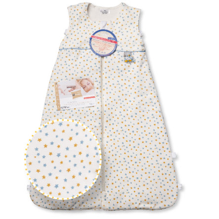 ARO Climarelle & Jersey Vario Kids Schlafsack 90-110cm Sternchen blau-gelb