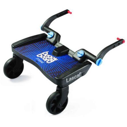 LASCAL Planche à roulettes pour poussette Buggy Board Maxi, bleu