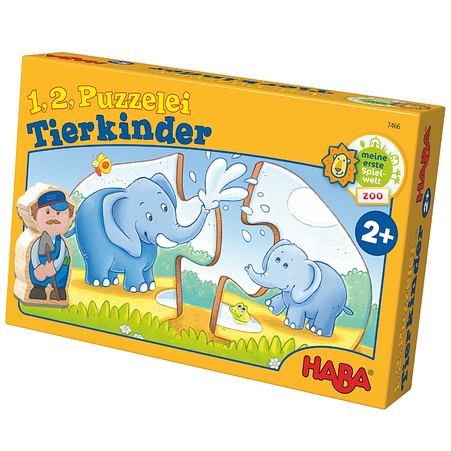 HABA 1,2 Puzzle - mláďata 7466