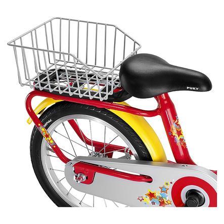 PUKY Cestino posteriore GKZ per bicicletta Z e serie ZL, colore argento