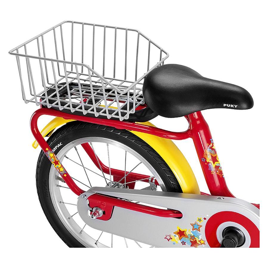 PUKY Cesta trasera GKZ plateada para bicicletas de la serie Z y ZL