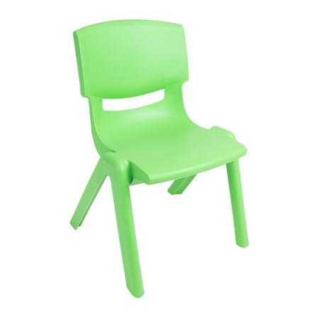 BIECO Lasten tuoli, muovi, vihreä