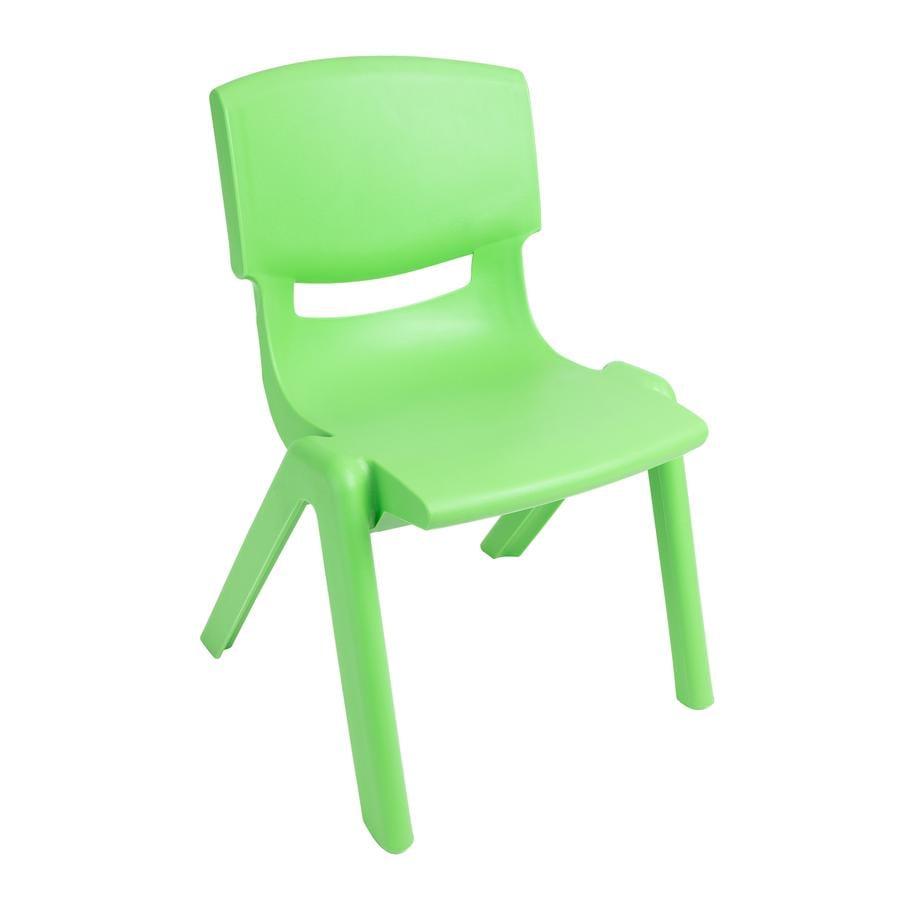 BIECO Dětská židle z plastů, zelená