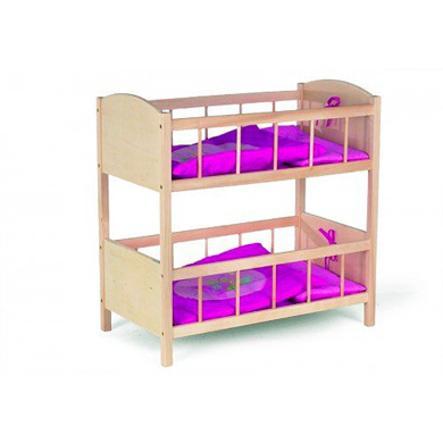 ROBA dvoupatrová postel pro panenky