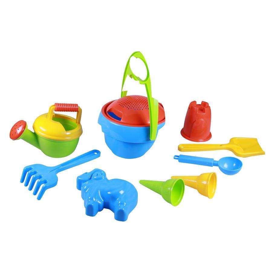 LENA®  Set de juego en la arena para niños I, 10-piezas