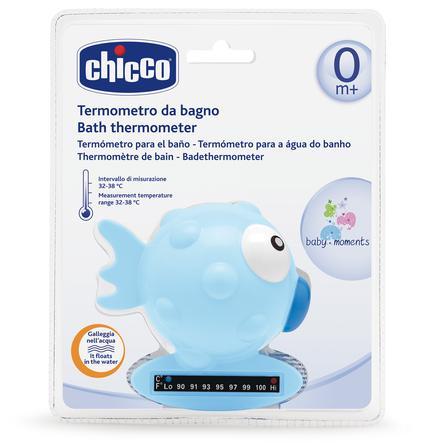 CHICCO Badtermometer fisk, blå