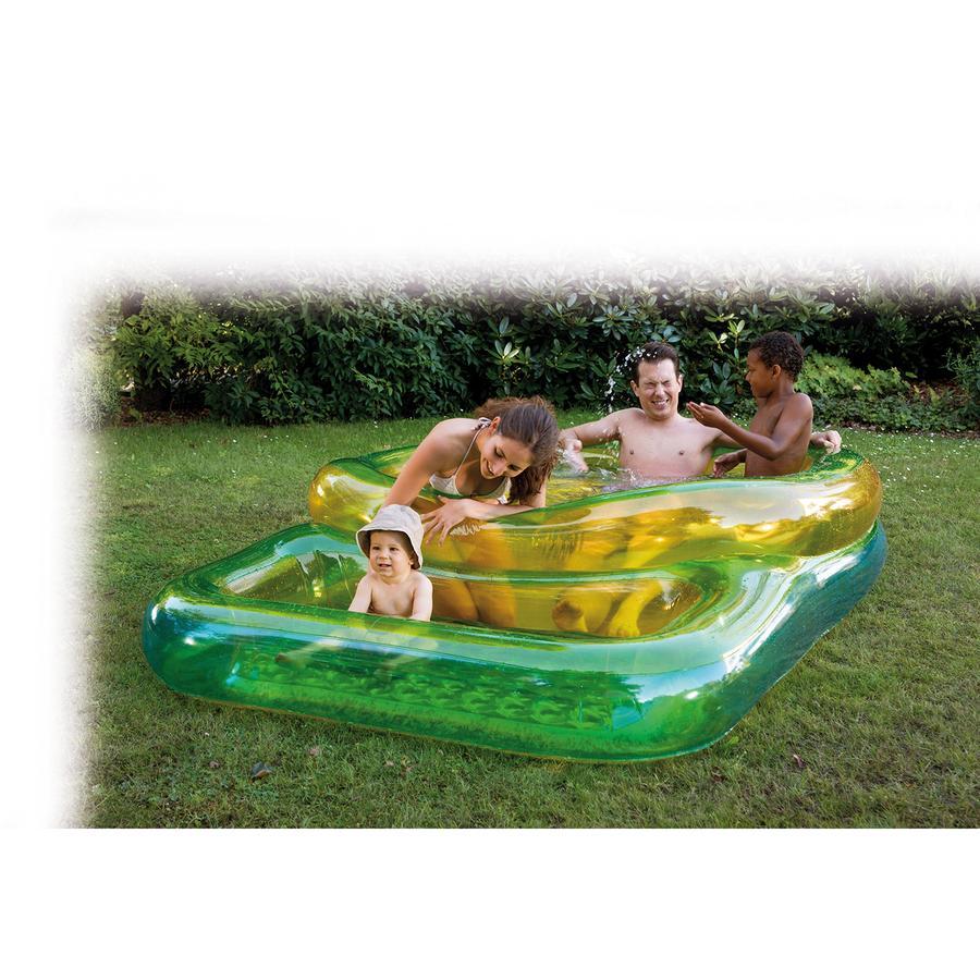 HAPPY PEOPLE Piscina Grandi e bambini 240x160x50 cm