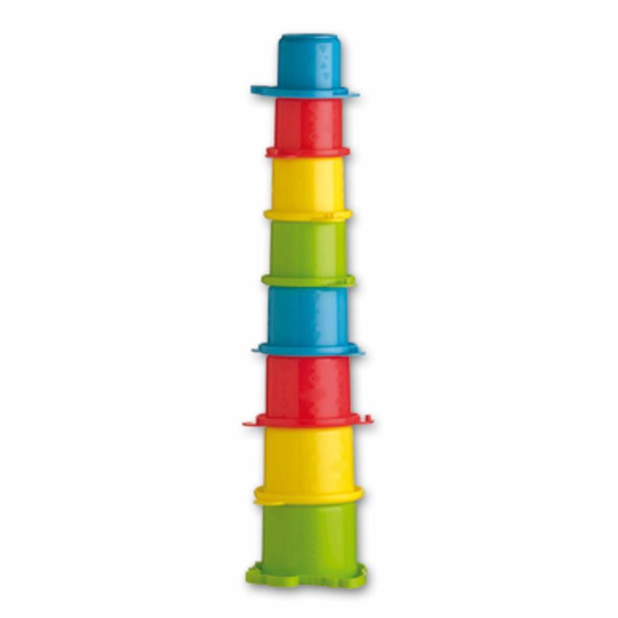 PLAYGRO Torre Impilabile da Spiaggia Coccodrillo