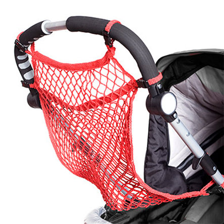 HARMATEX Universal Shopping Net with Quick Fasteners - Red