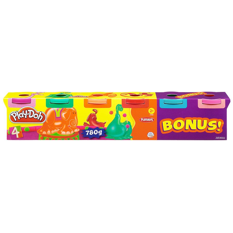 Play-Doh Party 6er Pack Neonfarben