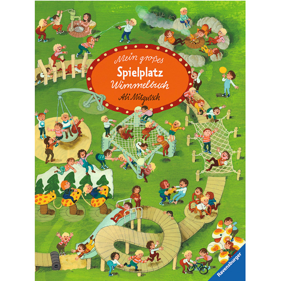 RAVENSBURGER Mein großes Spielplatz - Wimmelbuch