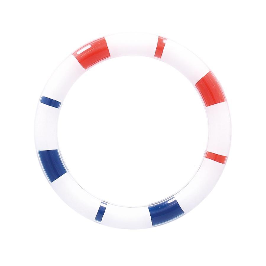 BIECO Hochet anneau bleu/rouge