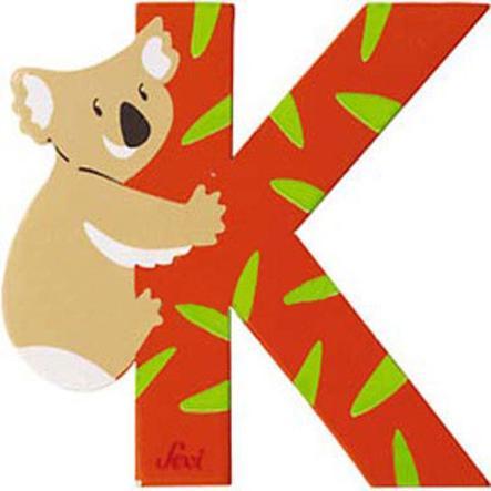 SEVI písmenko se zvířátkem K