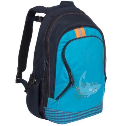 LÄSSIG Mini Sac à dos Backpack Big Shark ocean