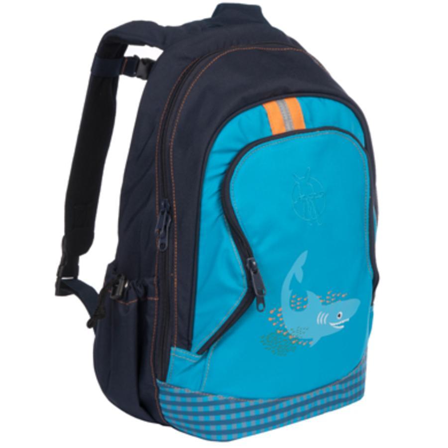 LÄSSIG Mini Rucksack Backpack Big Shark ocean