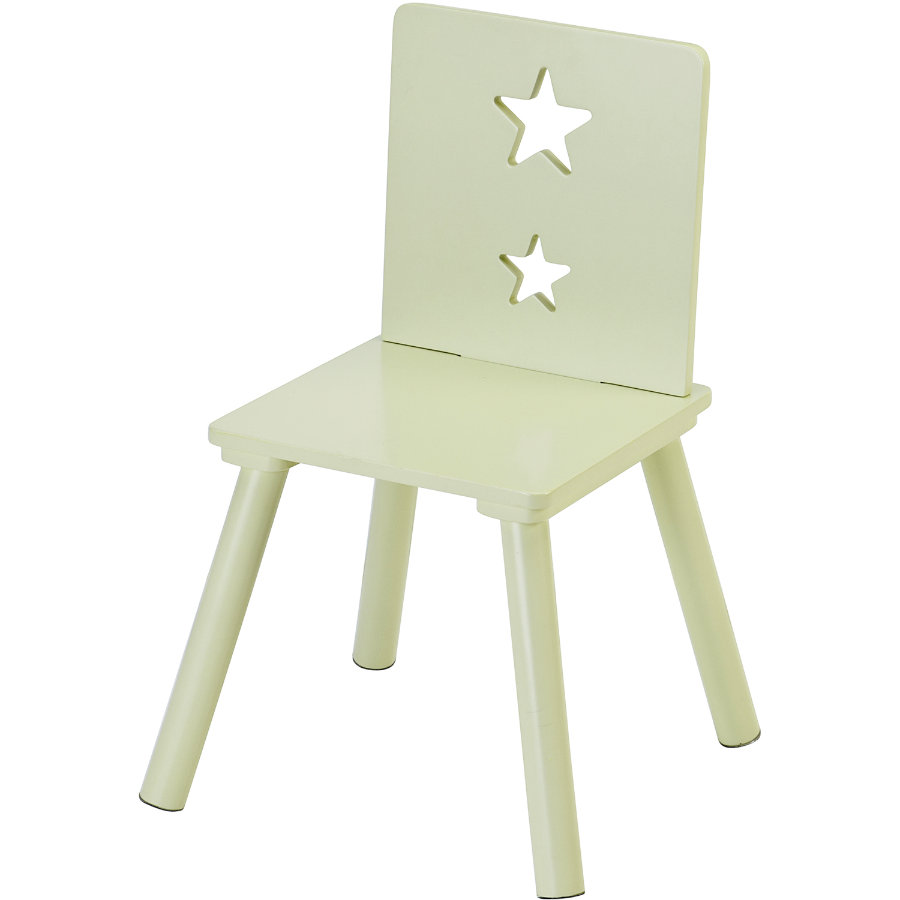 KIDS CONCEPT Chair Star, green