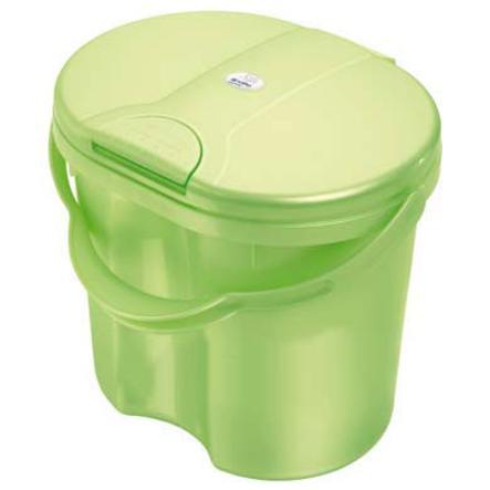 ROTHO Cestino per pannolini TOP - Verde chiaro