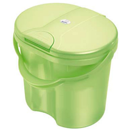 ROTHO Wiaderko na zużyte pieluszki TOP kolor zielony