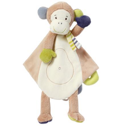 FEHN Monkey Donkey Schmusetuch Deluxe Affe