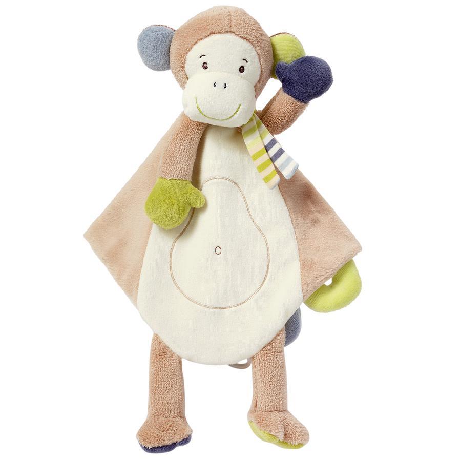 FEHN Monkey Donkey Knuffeldoek Deluxe Aap
