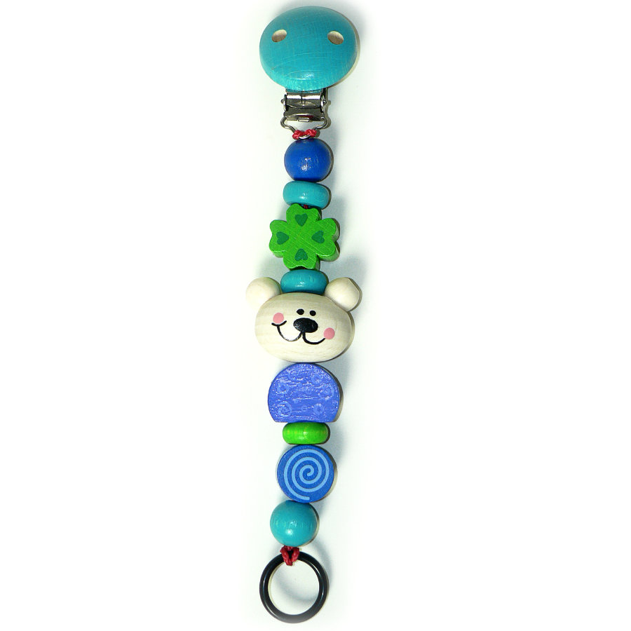 HESS Soother Chain - Bear Tim