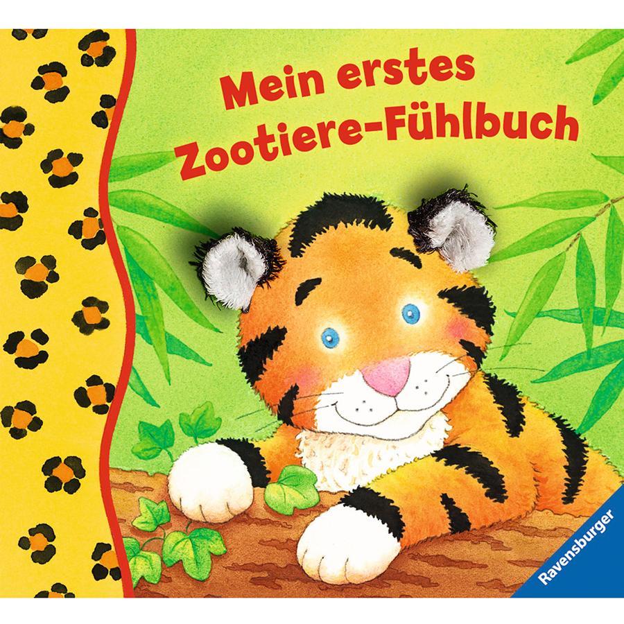 RAVENSBURGER Mein erstes Zootiere-Fühlbuch