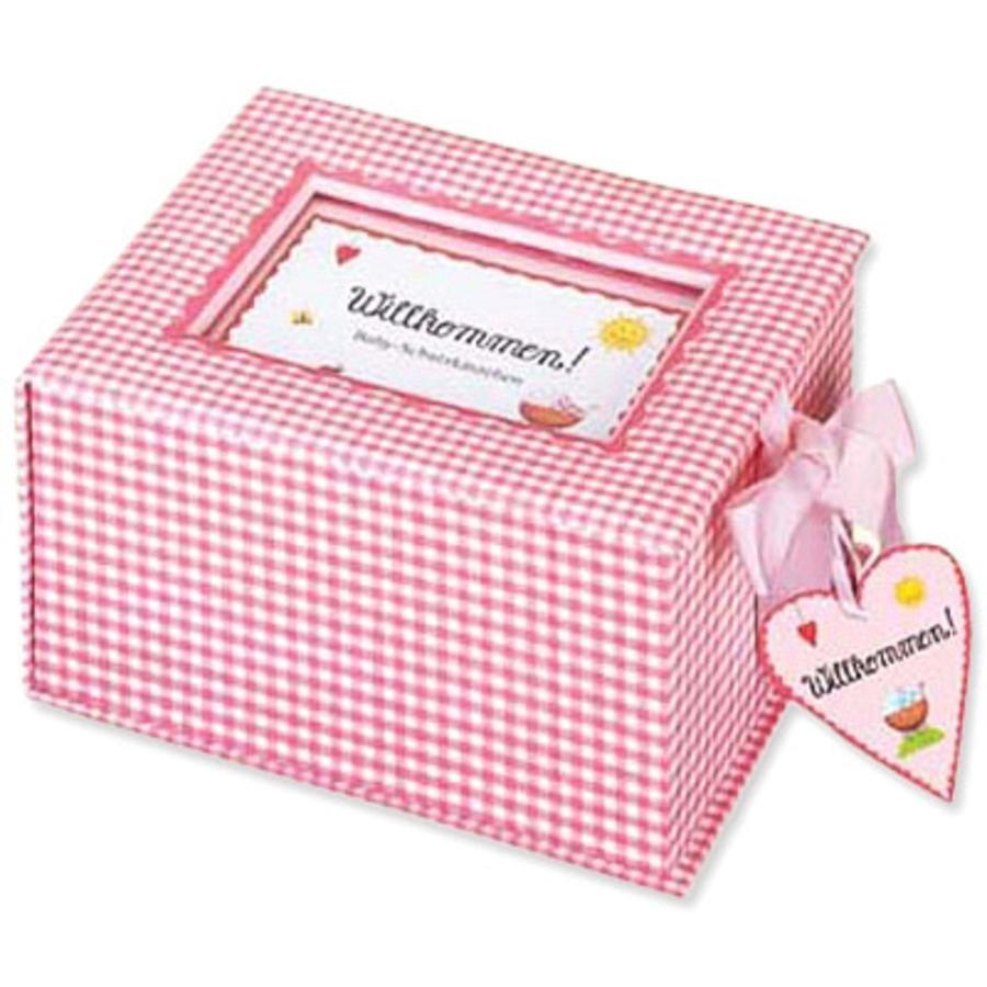 COPPENRATH, Baby-schatkistje Willkommen! roze