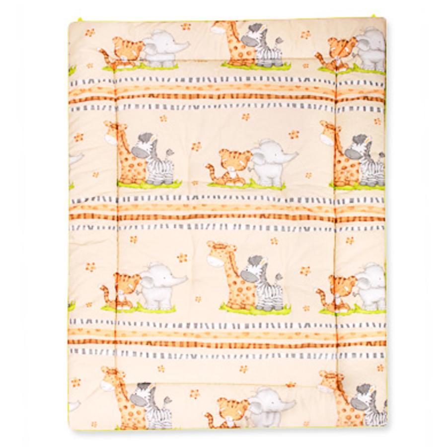 ZÖLLNER 95 x 135 cm Baby Blanket African Dreams natur (1115-1)