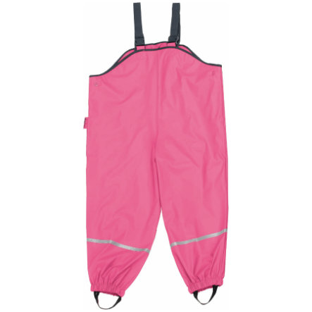 PLAYSHOES Rain Pants with Suspenders pink