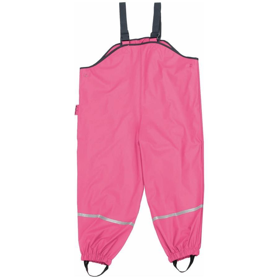 PLAYSHOES Girls Regnbyxor med textilfoder rosa