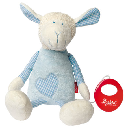 SIGIKID Muziekknuffel Schaap - Organic Collection first hugs 40950