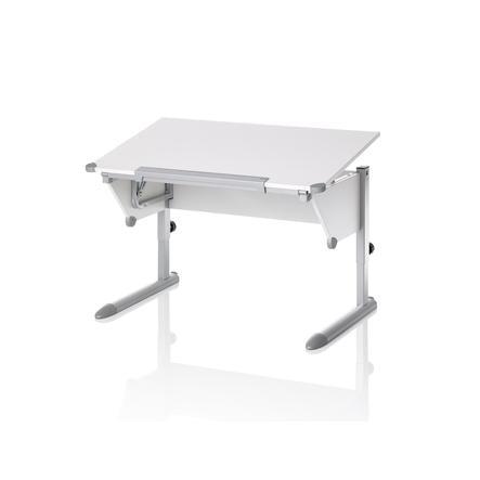 KETTLER Psací stůl COOL TOP II, bílá-stříbrná
